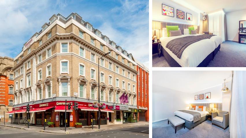 Rooms of Mercure London Paddington Hotel