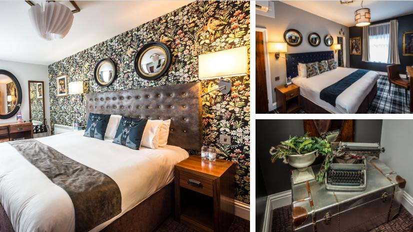 mercure nottingham city centre bedroom