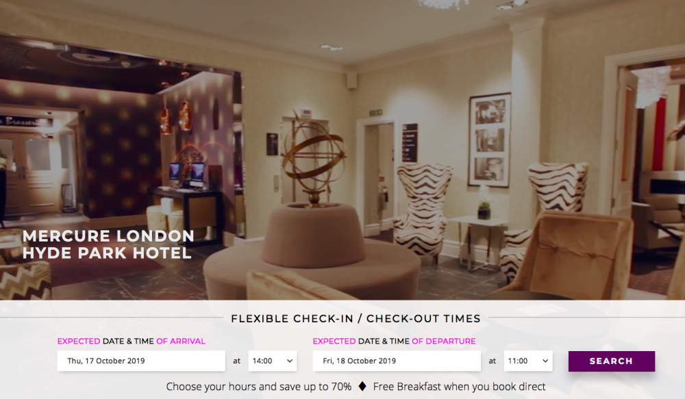 Mercure London Hyde Park Hotel - Lounge
